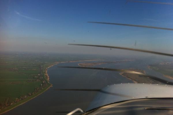 Entlang der Elbe zur Nordsee
