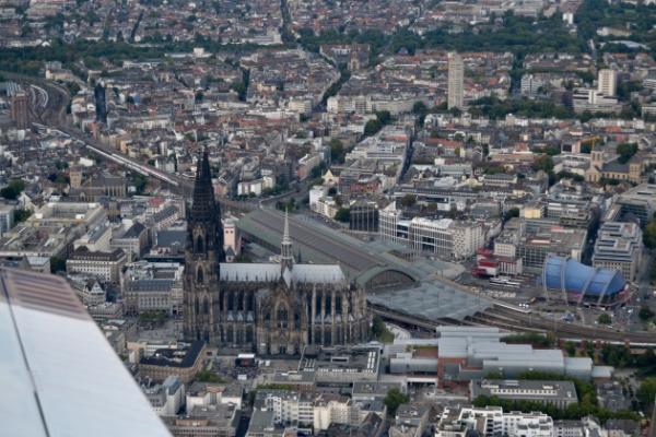 Köln & Umgebung von oben