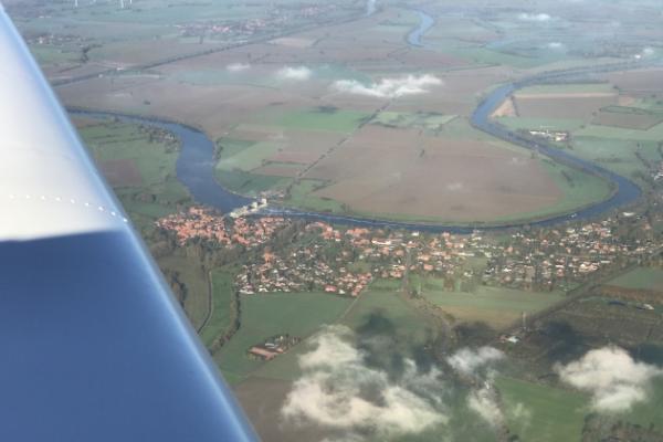 Rundflug über das Ruhrgebiet