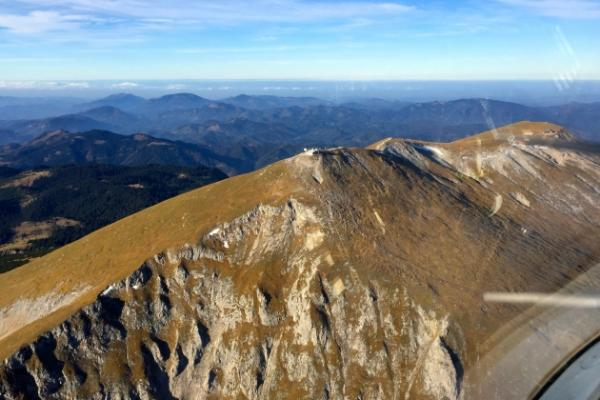 Schneeberg Rundflug mit Überflug des Raxgebiets und dem Semmering im 2 Sitzer!