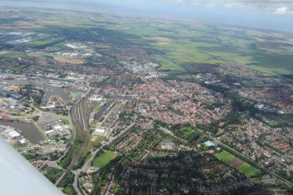 Flug nach Norderney