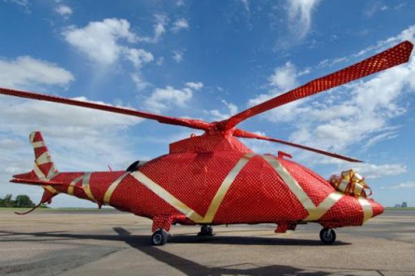 Hubschrauberrundflug über dem Münsterland