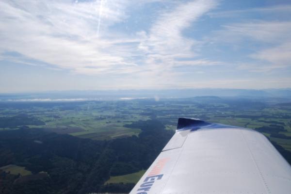 Rundflug Jesenwang, Füssen, Zugspitze