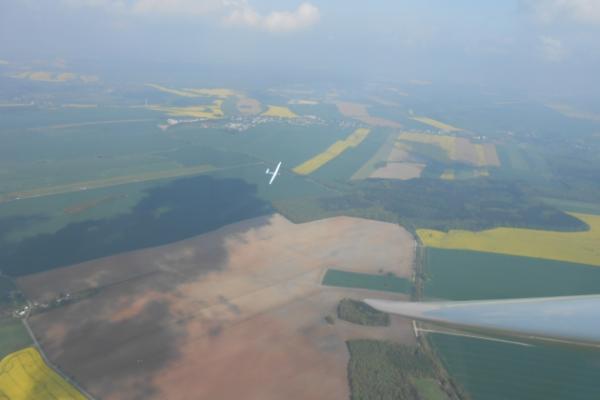 Segelflugplatzrunde