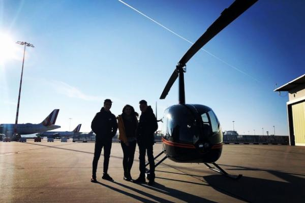 Hubschrauber Burgen Rundflug