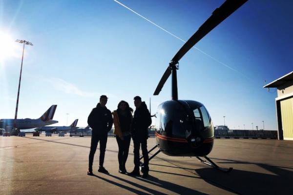 Hubschrauber Flug über Stuttgart 30min.