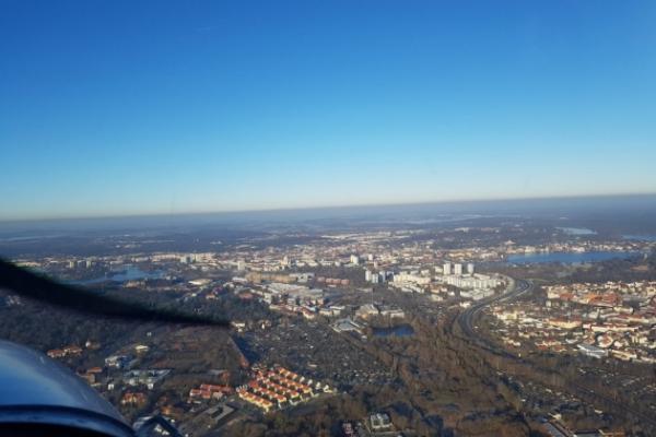 Potsdam und Potsdam's Schlösser von oben