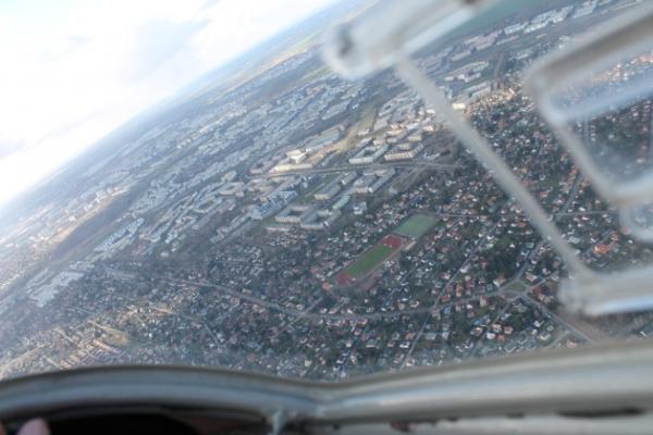 Rundflug über Berlin und Potsdam