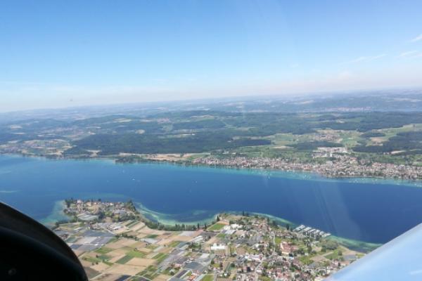 Rundflug Bodensee und Hegauvulkane ab Konstanz
