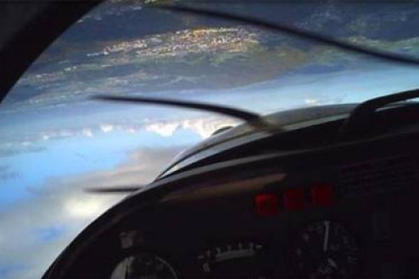 Akrobatik-Passagierflug ab Birrfeld