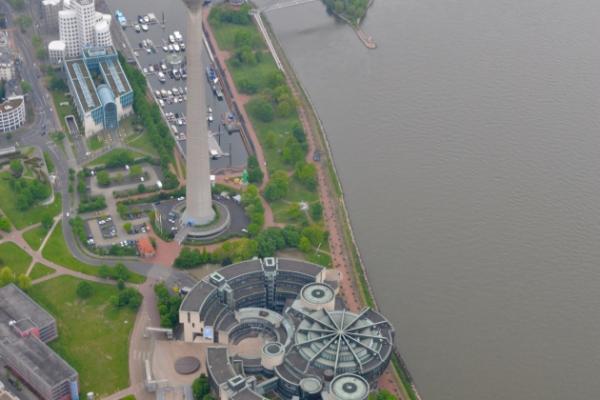 Düsseldorf & Umgebung von oben