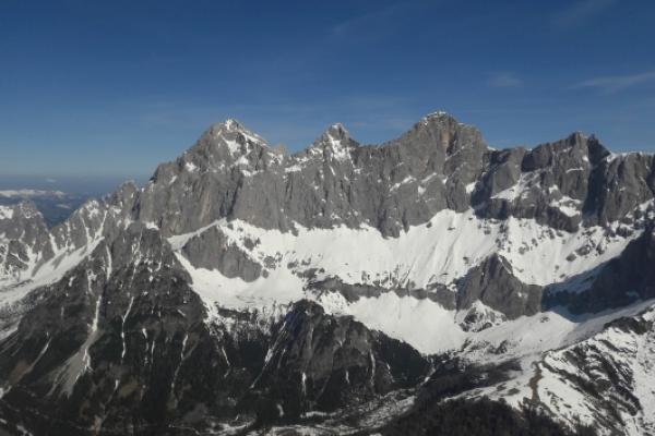 Großer Alpenrundflug via Zell am See
