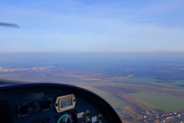 Schnupperflug über Brandenburg