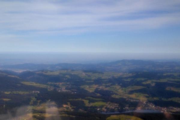 Rundflug ab Birrfeld: Schluchsee-Titisee-Feldberg