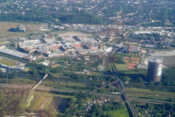 1h Rundflug wahlweise über das Ruhrgebiet, Düsseldorf/Köln, oder Sauerland