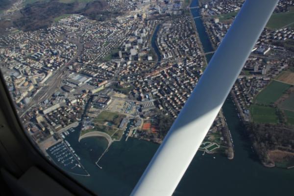 Bieler- Neuenburgersee, herrliche Sicht auf den Chasseral