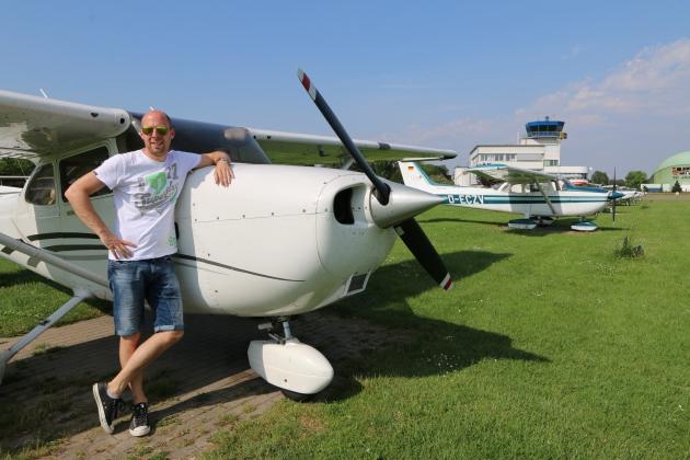 Das Flugzeug und euer Pilot